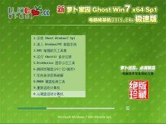 新萝卜家园 Ghost Win7(32位)电脑城装机版 2015.04