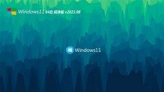 系统之家Windows11 纯净纯净版64位 2021.08